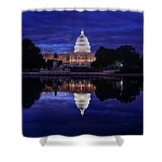 Capitol Morning Shower Curtain
