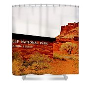 Capitol Reef N P Shower Curtain