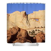 Capitol Reef National Park, Utah Shower Curtain by Mark Newman