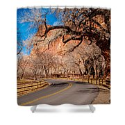 Capitol Reef Scenic Drive Shower Curtain