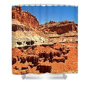 Capitol Reef Twin Towers Shower Curtain