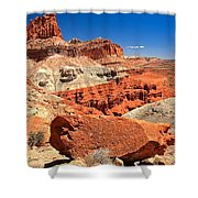 Capitol Reef Waterpocket Fold Shower Curtain