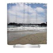 Capitola Wharf Shower Curtain