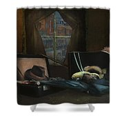 Capone - Revised Shower Curtain
