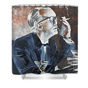 Capote By Hoffman Shower Curtain