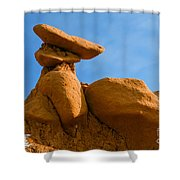 Capped Rock Shower Curtain
