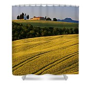 Cappelle Di Vitaleta Shower Curtain