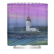 Capricious Lighthouse... Shower Curtain