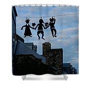 Capricious Quebec City Canada Shower Curtain