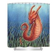 Capricorn Shower Curtain by Samantha Geernaert