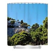 Capri's Gardens Shower Curtain