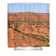Caprock Canyon 1 Shower Curtain