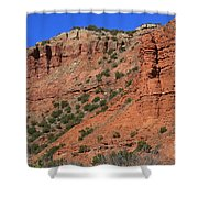 Caprock Canyon 3 Shower Curtain