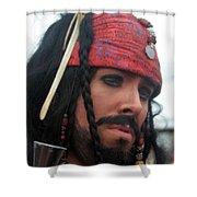 Captain Jack Sparrow Shower Curtain