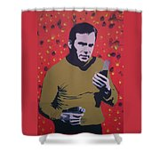 Captain Kirk Shower Curtain