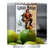 Captain Morgan Shower Curtain