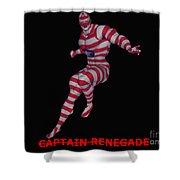 Captain Renegade Shower Curtain