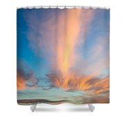 Captivating Clouds Shower Curtain