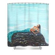 Captivating Mermaid Shower Curtain