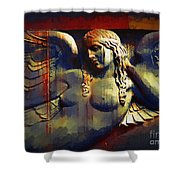 Captive In Stone Shower Curtain