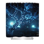Captured Stars Shower Curtain by Kevyn Bashore