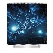 Captured Stars Shower Curtain