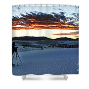 Capturing The Sunset Shower Curtain