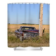 Car Accident Shower Curtain