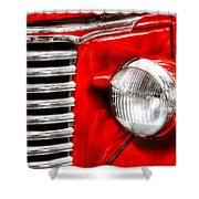 Car - Chevrolet Shower Curtain by Mike Savad