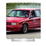 Car No. 34 - 02 Shower Curtain
