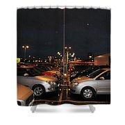 Car Park Beauty Shower Curtain