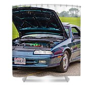 Car Show 022 Shower Curtain