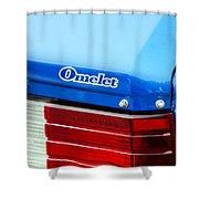 Car Show 035 Shower Curtain