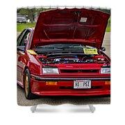 Car Show 036 Shower Curtain