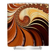 Caramel  Shower Curtain