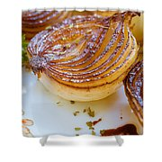 Caramelized Balsamic Onions Shower Curtain