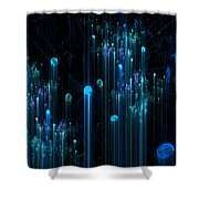 Carbonation Shower Curtain