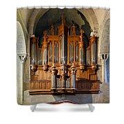 Carcassonne Organ Shower Curtain