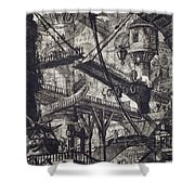 Carceri Vii Shower Curtain