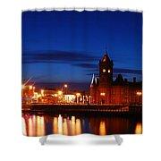Cardiff Bay Shower Curtain
