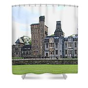 Cardiff Castle 8394 Shower Curtain