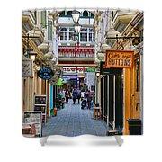 Cardiff Wyndham Arcade 8275 Shower Curtain