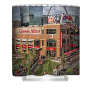 Cardinals Nation Ballpark Village Dsc06176 Shower Curtain
