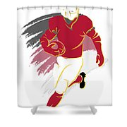 Cardinals Shadow Player2 Shower Curtain