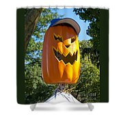 Carefree Scarecrow Shower Curtain
