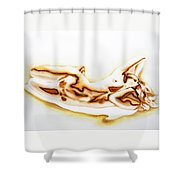 C A R E S S .  O F .  L I G H T   Shower Curtain