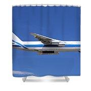 Cargo Plane Shower Curtain