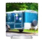 Cargo Trailer Shower Curtain