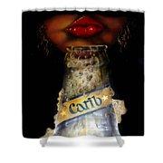 Carib Beer Shower Curtain