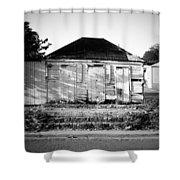 Caribbean Architecture Shower Curtain